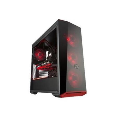 Cooler Master MasterBox Lite 5 RGB ATX 2 x USB 3.0 Tempered Glass Side Window Panel Black Case
