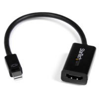 Mini DisplayPort™ to HDMI 4K Audio / Video Converter – mDP 1.2 to HDMI Active Adapter for UltraBook™