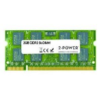 2-POWER soDIMM Memory 2GB DDR2 667MHz SoDIMM