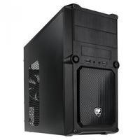 Cougar MG100 Mini Tower PC Case in Black Steel