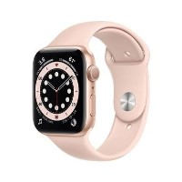 Apple Watch Series 6 GPS - 40mm Gold Aluminium Case with Pink Sand Sport Band - Regular