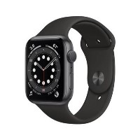 Apple Watch Series 6 GPS - 40mm Space Gray Aluminium Case with Black Sport Band - Regular