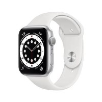 Apple Watch Series 6 GPS - 40mm Silver Aluminium Case with White Sport Band - Regular
