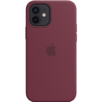 Apple iPhone 12/12 Pro Silicone Case with MagSafe - Plum