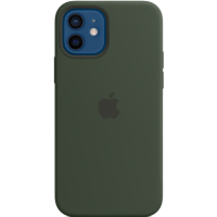 Apple iPhone 12/12 Pro Silicone Case with MagSafe - Cypress Green