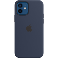 Apple iPhone 12/12 Pro Silicone Case with MagSafe - Deep Navy