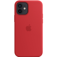Apple iPhone 12/12 Pro Silicone Case with MagSafe - PRODUCT RED