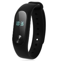 Xiaomi MI Band 2 Global Version - Smart Fitness Tracker With OLED Screen & Heart Rate Sensor - Black