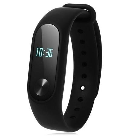 MI-BAND2 Xiaomi MI Band 2 Global Version - Smart Fitness Tracker With OLED Screen & Heart Rate Sensor - Black