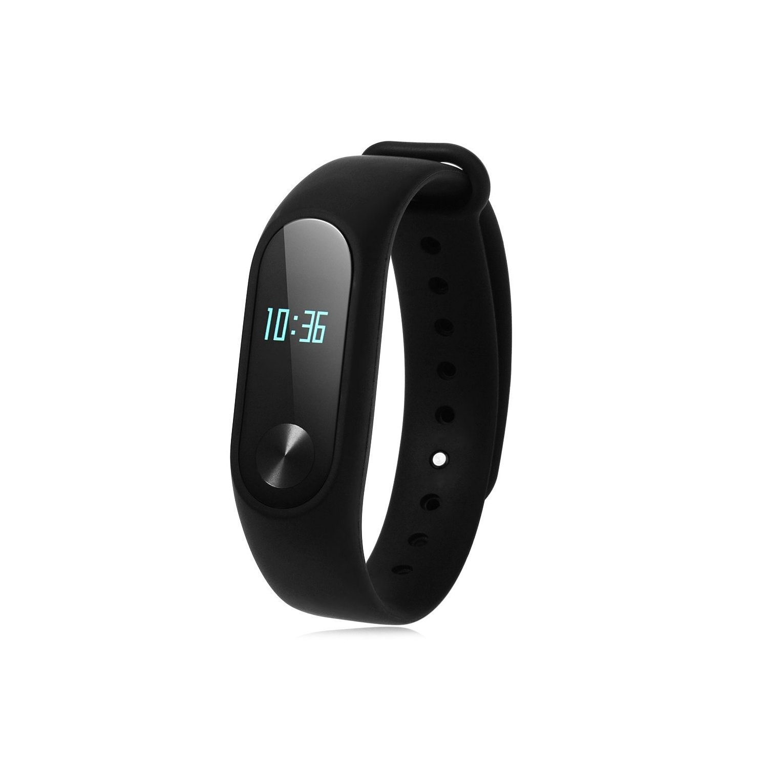 Xiaomi Mi Band 2 Global Version Smart Fitness Tracker With Oled Screen Heart Rate Sensor Black Laptops Direct
