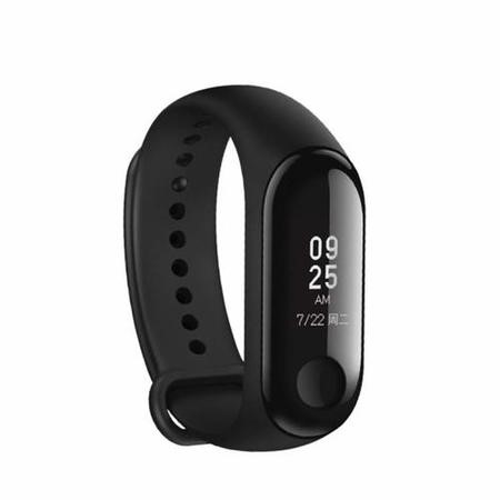 GRADE A1 - Xiaomi Mi Band 3 Black - Fitness Tracker with OLED Display