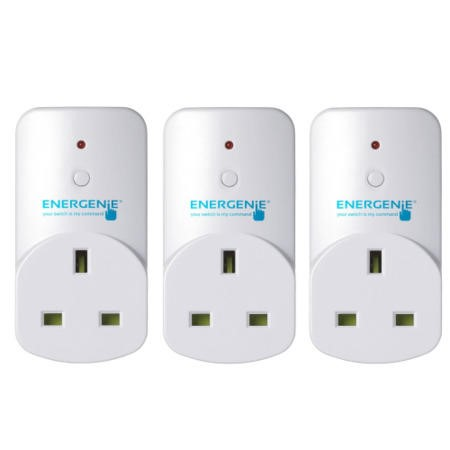 Energenie MiHome Adapter 3 pack