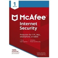 McAfee Internet Security - 1 Device - 12 Month Subscription