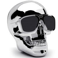 Jarre AeroSkull XS + Chrome Silver Bluetooth Speaker