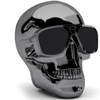 Jarre AeroSkull XS + Chrome Black Bluetooth Speaker