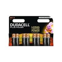 Duracell Plus AA Batteires - 8 Pack