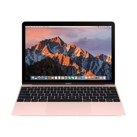 MNYM2B/A New Apple Macbook Core M3 1.2GHz 256GB SSD 12 Inch Laptop - Rose Gold