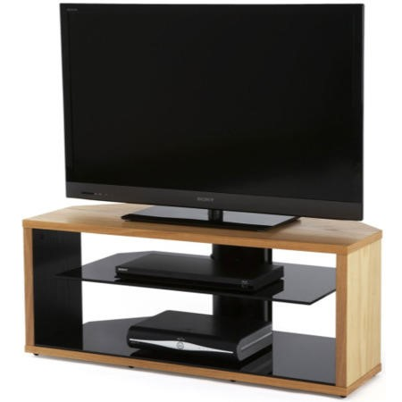 Off The Wall Mono 1000 Oak TV Cabinet - Up to 55 Inch