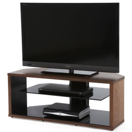 Off The Wall Mono 1000 Walnut TV Cabinet - Up to 55 Inch