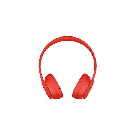 Beats Solo3 Headphones With Mic - Red