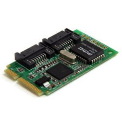 StarTech.com 2 Port Mini PCI Express Internal SATA II Controller Card