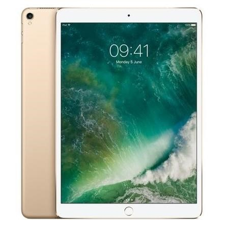 MPHJ2B/A New Apple iPad Pro Wi-Fi + Cellular 3G/4G 256GB 10.5 Inch Tablet - Gold