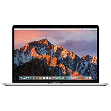 Refurbished Apple MacBook Pro Core i7 16GB 512GB Radeon Pro 560 15 Inch Laptop With Touch Bar in Silver