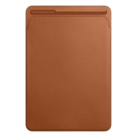"Apple Leather Sleeve for iPad Pro 10.5"" in Saddle Brown"