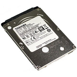"Toshiba 500GB 2.5"" SATA 6Gb/s 5400rpm Internal Hard Drive"