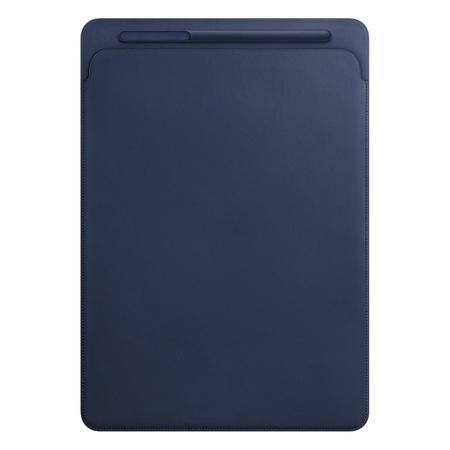 "Apple Leather Sleeve for iPad Pro 12.9"" in Midnight Blue"