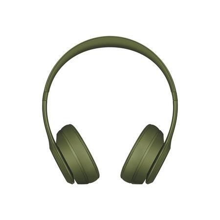 Beats Solo 3 Wireless On-Ear Headphones - Turf Green