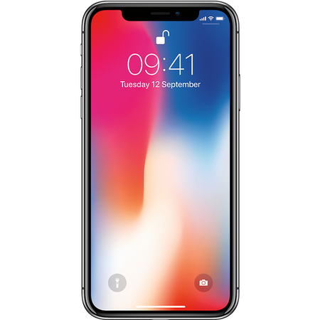 "MQAF2B/A Apple iPhone X Space Grey 5.8"" 256GB 4G Unlocked & SIM Free"