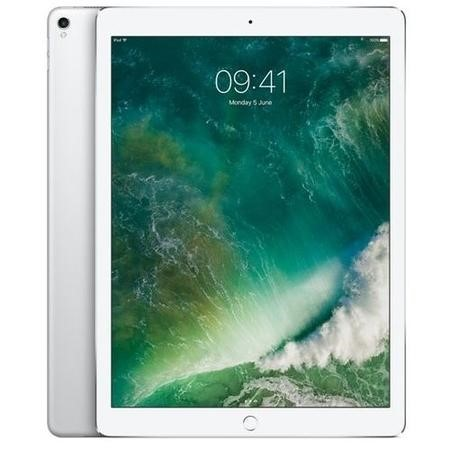 MQEE2B/A New Apple iPad Pro Wi-Fi + Cellular 64GB 12.9 Inch Tablet - Silver