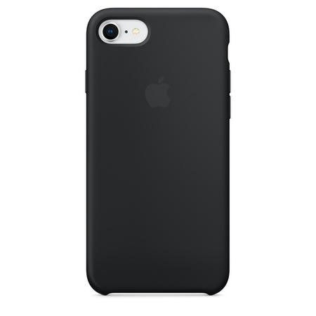 MQGK2ZM/A Apple iPhone 7/iPhone 8 Silicone Case - Black