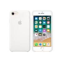 Apple iPhone 7/iPhone 8 Silicone Case - White
