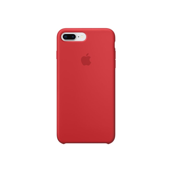 premium selection e88a8 b518c Apple iPhone 7 Plus/iPhone 8 Plus Silicone Case - PRODUCT RED