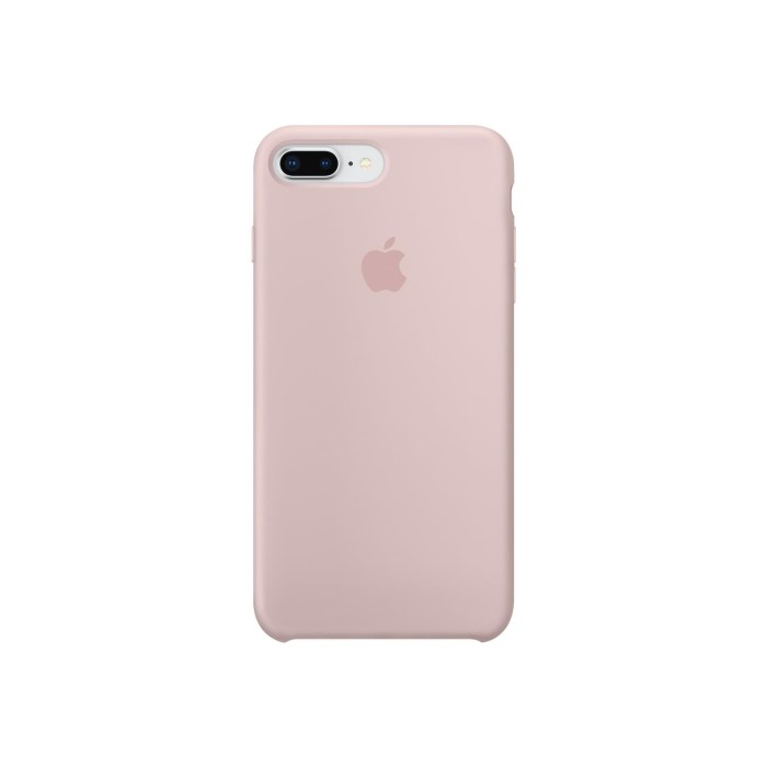 classic fit 691f7 18291 Apple iPhone 7 Plus/iPhone 8 Plus Silicone Case - Pink Sand