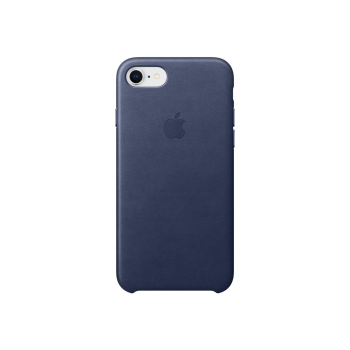 the best attitude 0c44d 1a5c0 Apple iPhone 7/iPhone 8 Leather Case - Midnight Blue
