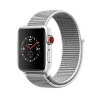 Apple Watch Sport Series 3 GPS + Cellular 38mm Silver Aluminium Case with Seashell Sport Loop