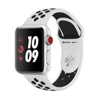Apple Watch Series 3 Nike+ GPS 38mm Silver Aluminium Case with Pure Platinum/Black Sport Band