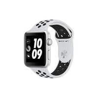 Apple Watch Series 3 Nike+ GPS 42mm Silver Aluminium Case with Pure Platinum/Black Sport Band