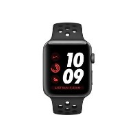 Grade B Apple Watch Nike+ Series 3 GPS 42mm Space Grey Aluminium Case with Black Sport Band