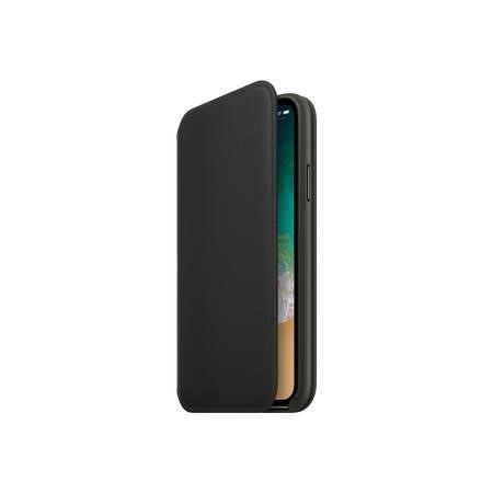 MQRV2ZM/A Apple iPhone X Leather Folio - Black