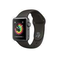 Apple Watch Series 3 GPS 42mm Space Grey Aluminium Case with Grey Sport Band