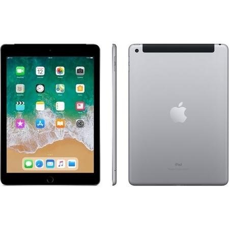 MR6Y2B/A New Apple iPad Cellular 32GB IPS 9.7 Inch iOS 11 Tablet - Space Grey