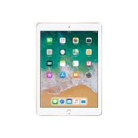 New Apple iPad WiFi + Cellular 128GB SSD IPS 9.7 Inch iOLS 11 Tablet - Gold