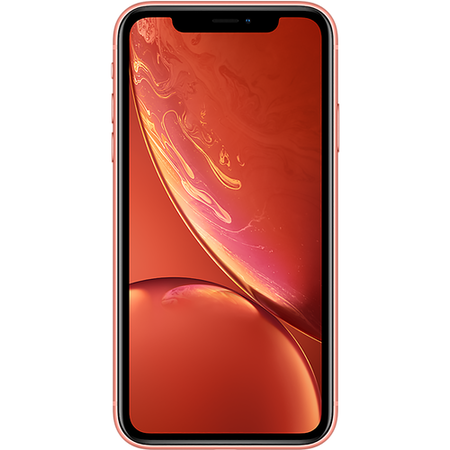 "MRY82B/A Apple iPhone XR Coral 6.1"" 64GB 4G Unlocked & SIM Free"