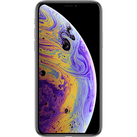 "Apple iPhone XS Silver 5.8"" 512GB 4G Unlocked & SIM Free"