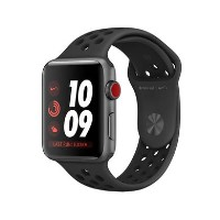Apple Watch Nike+ Series 3 GPS + Cellular 38mm Space Grey Aluminium Case with Anthracite/Black Nike
