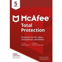 McAfee 2018 Total Protection - 5 Device - 12 Month Subscription